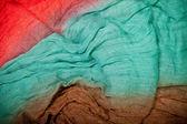 Fond textile coloré — Photo