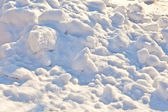 Large snowdrift background — Stock fotografie