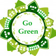 Foto de Stock  : Go green