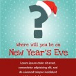 Invitation for new year party — Stockvector #31409153