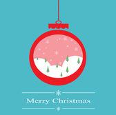 Christmas tree decoration isolated on white. — Stock Photo
