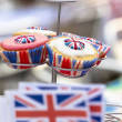British Cupcakes at Street Party — Stock Photo