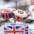 Stock Photo: British Cupcakes at Street Party