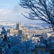 Bath in the snow — Stock Photo