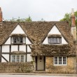 Traditional English Cottage - Stock Photo