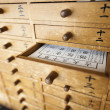 Omikuji Drawers — Stock Photo