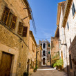 Old street, Valldemossa, Majorca - Stock Photo