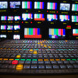Television Broadcast Gallery — Stock Photo