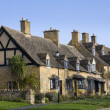 Cotswold cottages - Stock Photo