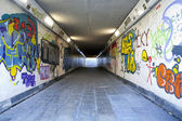 Grungy Underpass — Stock Photo