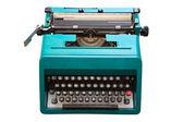 七十年代的打字机 — 图库照片