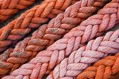 Thick Orange Rope — Stock Photo