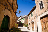 Rustige lane in valldemossa, mallorca — Stockfoto
