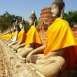 Buddha Images, Ayuthaya - Stock Photo