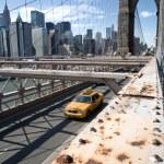 纽约布鲁克林大桥 — 图库照片