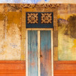Colorful Doorway Entrace to Monk Temple - Stock Photo