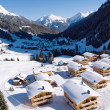 Alpine village - Stock Photo