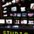 Television Studio Gallery — Stock Photo