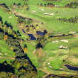 Aerial Golf Course - Stock Photo
