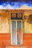 Colorful Doorway Entrace to Monk Temple — Stock Photo