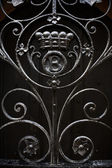 Detailed ironwork — Stock Photo