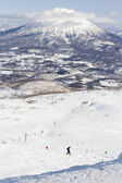 Winter sports at Niseko Resort, Hokkaido, Japan — Stock Photo