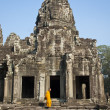 Bayon Temple, Siem Reap Cambodia - Stock Photo