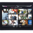 BBC iPlayer App for iPad — Stock Photo