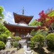 Mitaki Temple, Hiroshima, Japan - Stock Photo