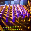 Mixing Desk Close-up — Stock Photo