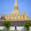 Pha That Luang Temple, Vientiane - Stock Photo