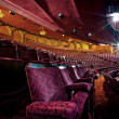 Empty Theatre Auditorium — Stock Photo
