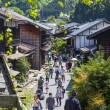 Tsumago Town, Kiso Valley, Japan - Stock Photo