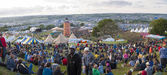 Glastonbury Festival Site — Stock Photo