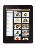 Jamie Oliver Recipe App on iPad — Stock Photo