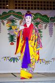 Ryukyu Dancer in Naha, Okinawa — Stock Photo
