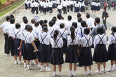 Japanese School Trip — Stock Photo