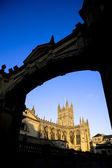 Kemer ile çerçeveli hamamı abbey — Stok fotoğraf