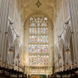 Bath Abbey East Window - Stock Photo