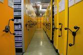 Biblioteca de fita de vídeo — Foto Stock
