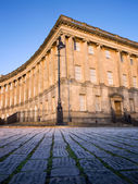 Section of Royal Crescent , Bath — Foto Stock
