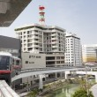 Okinawa City Monorail Line — Stock Photo