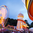 Stock Photo: Funfair at Bristol Balloon Fiesta