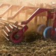 Stock Photo: Plough Close-up