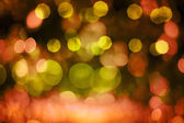 Defocussed Red and Yellow Light Pattern — Stock Photo
