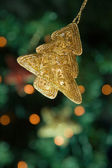 Tree shaped Christmas decoration — Stock Photo