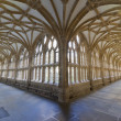 Cloisters at Wells Cathedral - Stock Photo