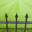 Stock Photo: Park Iron Railings