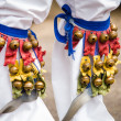 Leg Bells Close Up — Stock Photo