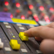 Sound mixing - Stock Photo
